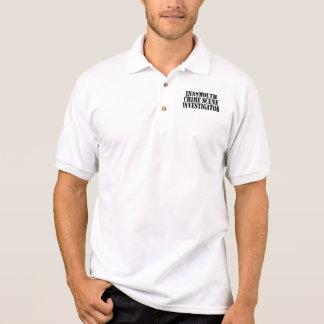 Investigador de la escena del crimen de Innsmouth Camiseta Polo