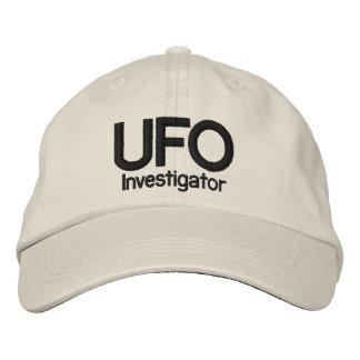 Investigador del UFO Gorras De Béisbol Bordadas