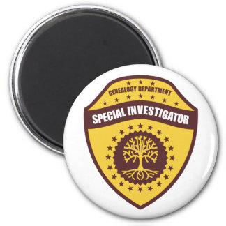 Investigador especial imán redondo 5 cm