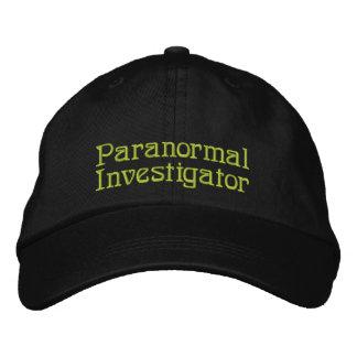 Investigador paranormal gorra de beisbol