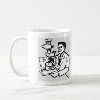 Investigador principal taza de café