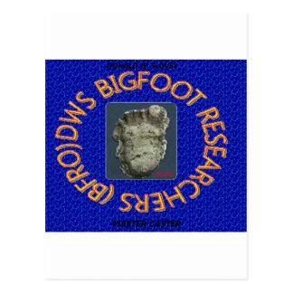 investigadores de Bigfoot de los dws Postal