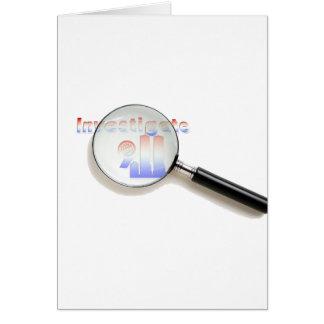 Investigate 9/11 card