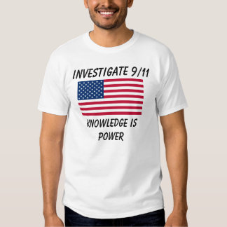 Investigate 9/11 - USA Flag - Basic T-Shirt