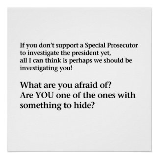 Investigate Trump! Poster