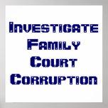 InvestigateFamilyCourt Corruption Poster