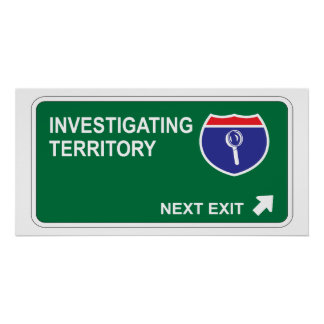 Investigating Next Exit Poster