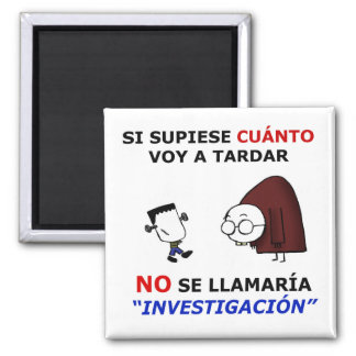 Investigation and estimations 2 inch square magnet