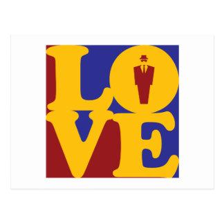 Investigations Love Postcard