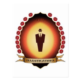 Investigations Mandorla Post Cards