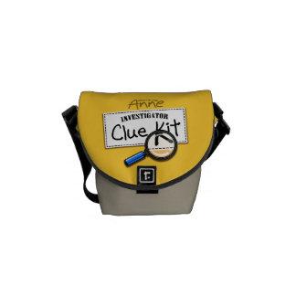 Investigator Anne Clue Kit Bag Courier Bag