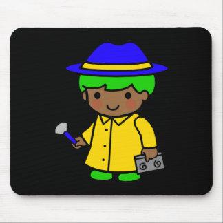 Investigator Boy 1 Mouse Pad