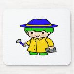Investigator Boy 2 Mousepads