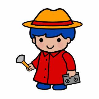Investigator Boy Cutout
