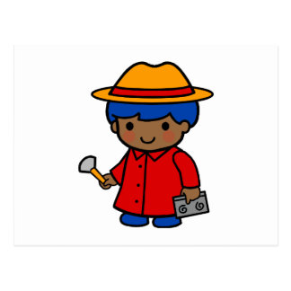 Investigator Boy Postcard