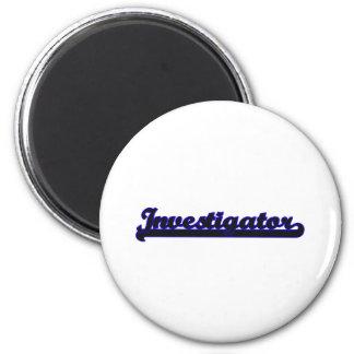 Investigator Classic Job Design 2 Inch Round Magnet