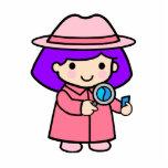Investigator girl 2 photo cutouts