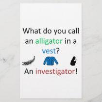 Investigator Joke