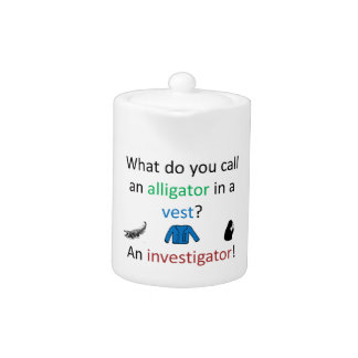 Investigator Joke Teapot