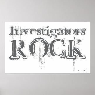 Investigators Rock Poster