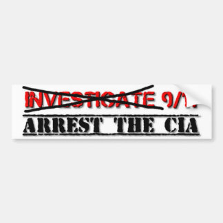 Investigue 9/11: Arreste la Cia Pegatina Para Auto