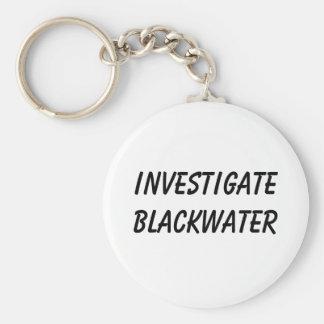 Investigue el Blackwater Llavero Redondo Tipo Pin