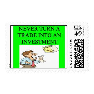 investing joke postage