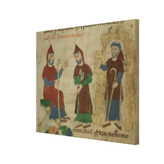 Investiture Benedictine Monk, from 'De Canvas Print