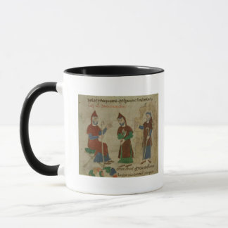 Investiture Benedictine Monk, from 'De Mug