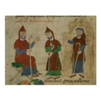 Investiture Benedictine Monk, from 'De Postcard