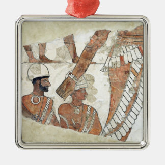 Investiture of the king by the goddess Ishtar Metal Ornament