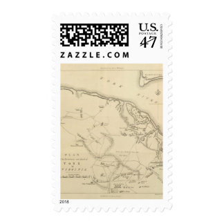 Investment and Attack of York in Virginia 2 Postage
