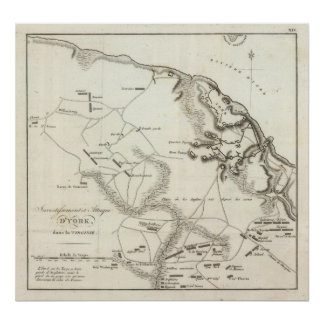 Investment and Attack of York in Virginia Poster