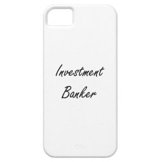 Investment Banker Artistic Job Design iPhone 5 Cover