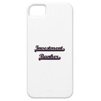 Investment Banker Classic Job Design iPhone 5 Cover