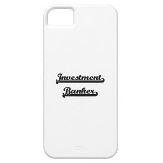 Investment Banker Classic Job Design iPhone 5 Covers