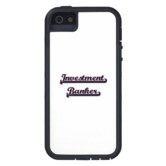 Investment Banker Classic Job Design Cover For iPhone 5