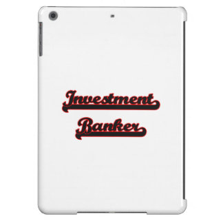 Investment Banker Classic Job Design iPad Air Covers