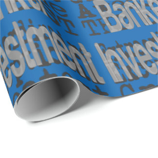 Investment Banker Extraordinaire Wrapping Paper