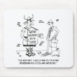 Investment Cartoon 7079 Mouse Pad