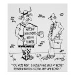 Investment Cartoon 7079 Poster