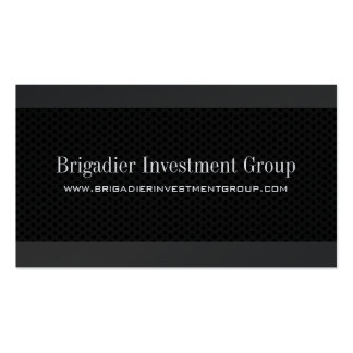 Investor Business Cards