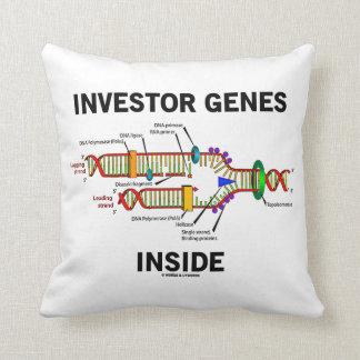 Investor Genes Inside (DNA Replication) Pillow