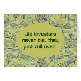 investors funny card