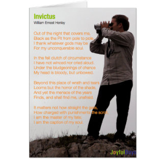 Invictus Card