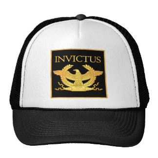 Invictus Eagle en negro Gorro