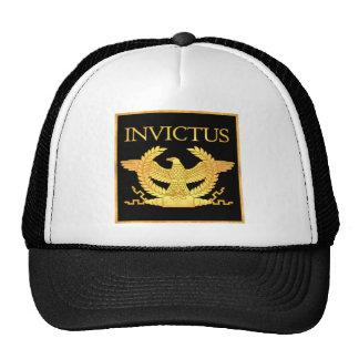 Invictus Eagle on Black Trucker Hat