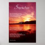 Invictus ~ Inspirational Poem Print