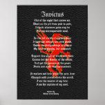 Invictus, negro inspirado del poema con el griffon poster