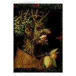 Invierno, 1573 tarjeta de felicitación